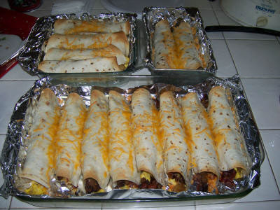 Chelle Staffords Recipe for Healthy Breakfast Burritos