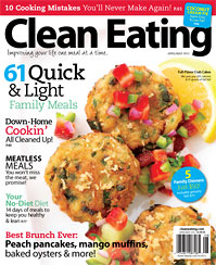 Clean Eating Magazine - fabulous recipe resource!