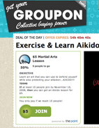 Daily Deal for your city! Groupon - huge discounts!