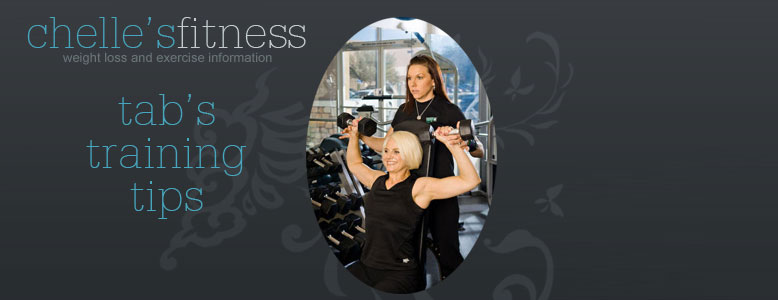 Ask a Trainer! Tabitha Citro answers your questions about fitness, exercise and weight loss.