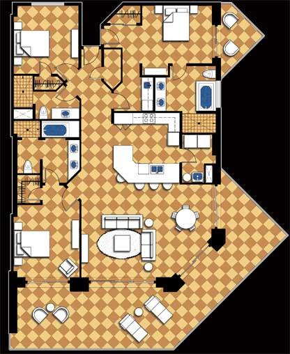 2 Bedroom Ground Floor Plan